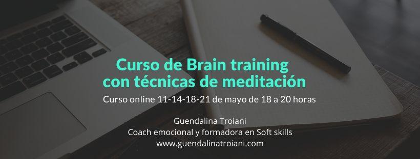 Curso de Brain training con técnicas de meditación